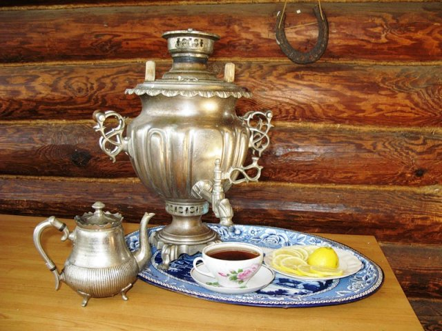 How to heat a samovar