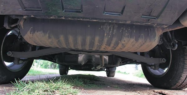 How to handle the bottom of the car
