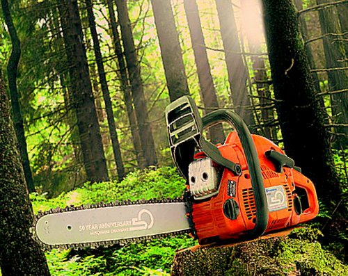 How to break in a chainsaw
