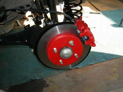 Как переделать барабанные тормоза на дисковые