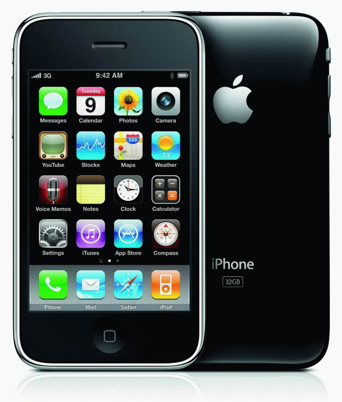 Как синхронизировать IPhone 3G