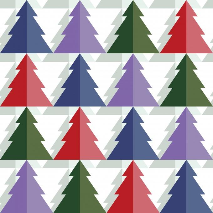 Как сделать бумажную елку