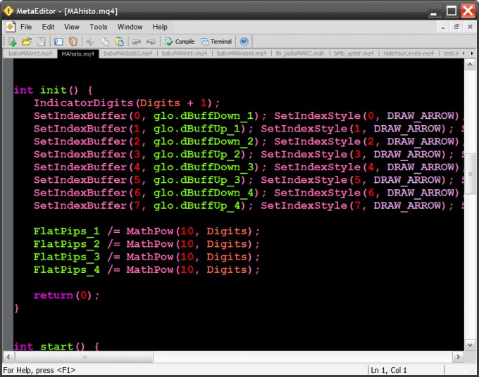 Как создать скомпилированный файл