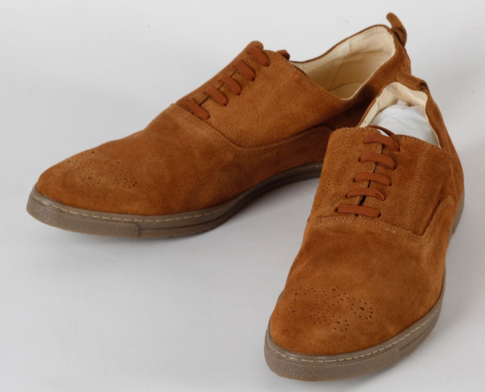 How to get rid of stains on suede shoes