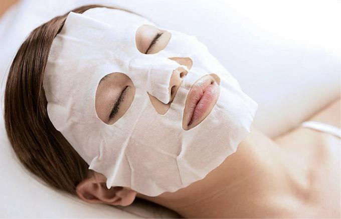 Как снять маску с лица