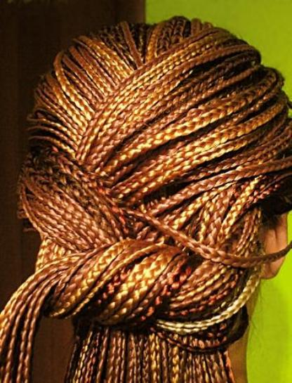 How to weave afrokosy