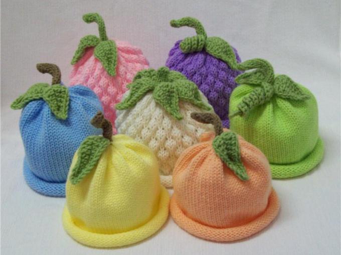 Как связать шапочку младенцу