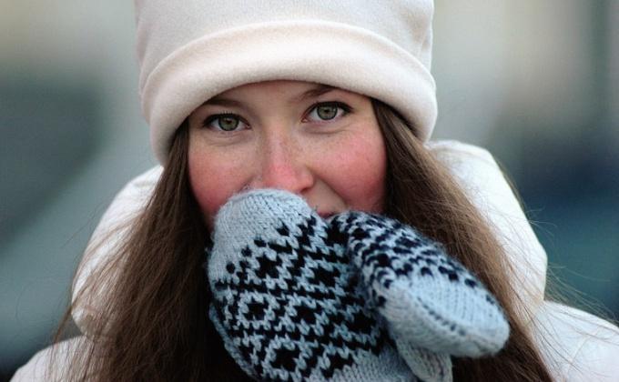 Как лечить обморожение щек