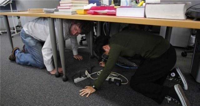 Как спастись во время землятресения