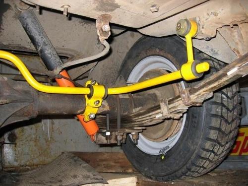 Как установить стабилизатор на ВАЗ