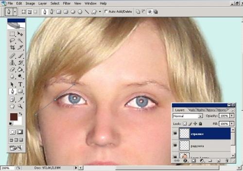 Как накладывать тени фото
