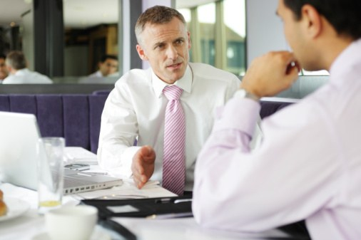How to start a conversation with the employer