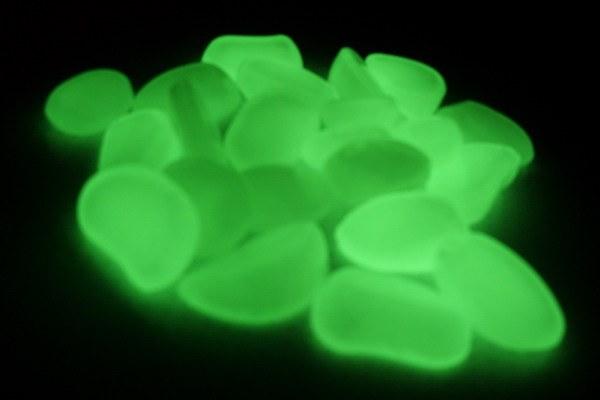 Как сделать светящиеся камни