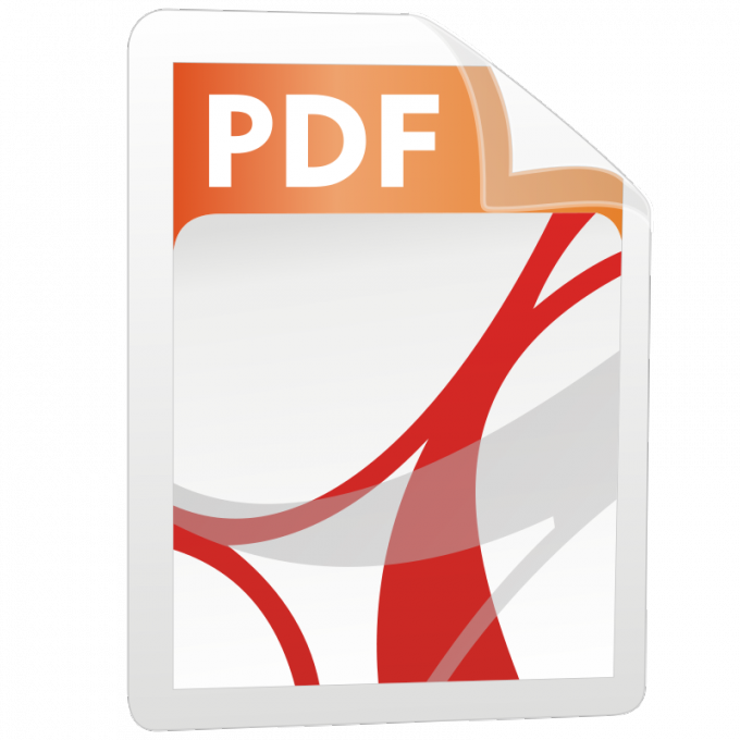 Как открыть пдф формат
