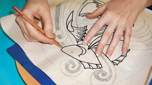Как перевести рисунок на вышивку