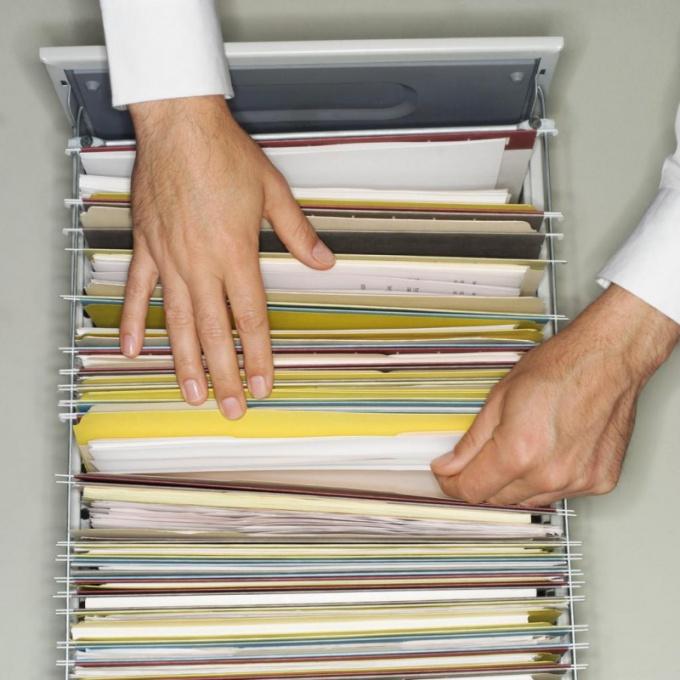 Как хранить счета-фактуры