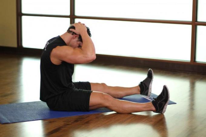 Как накачать шейные мышцы