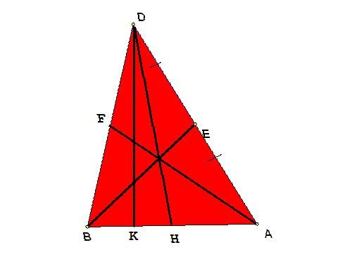 How to find the length of medians of the triangle