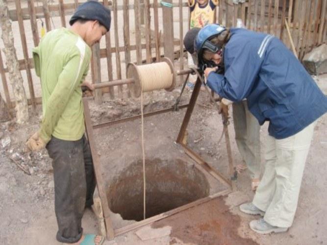 Как определить глубину грунтовых вод