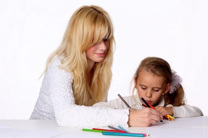 Как научить детей рисовать портрет