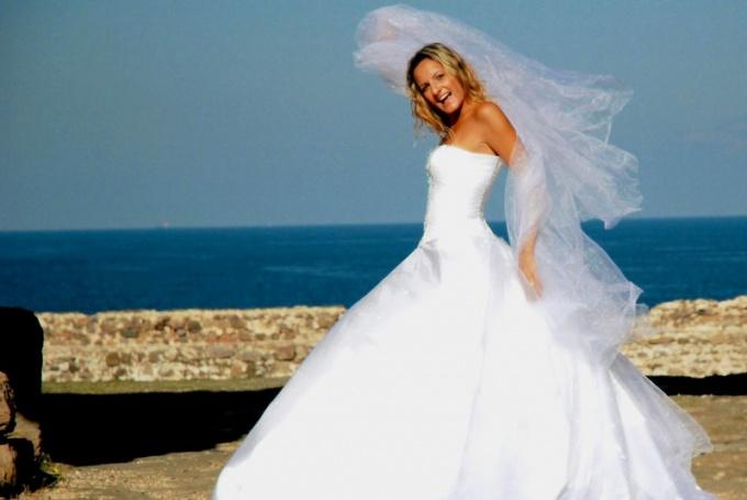 Как сшить подъюбник свадебный