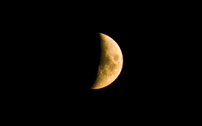 How to identify the growing and the waning moon