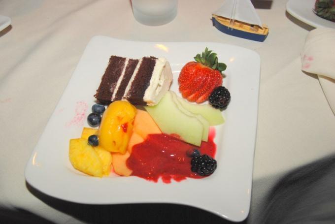 Как оформить фруктовую тарелку