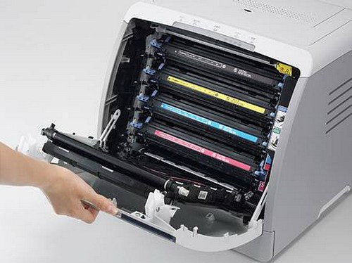 How to refill cartridge for color laser printer