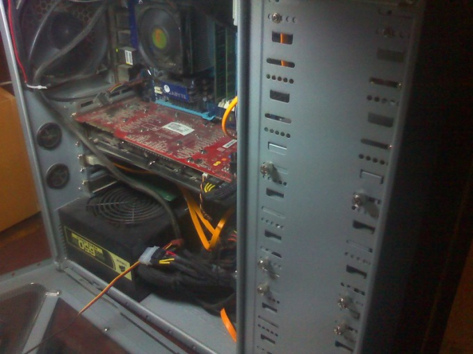 Чиним блок питания компьютера