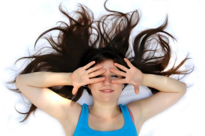 Как добиться шоколадного цвета волос