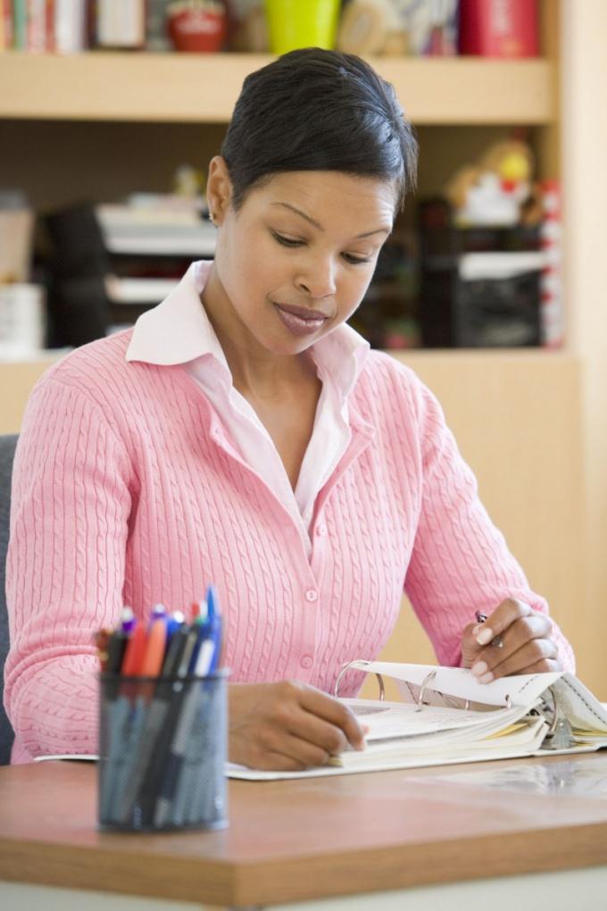 Как писать справки по урокам