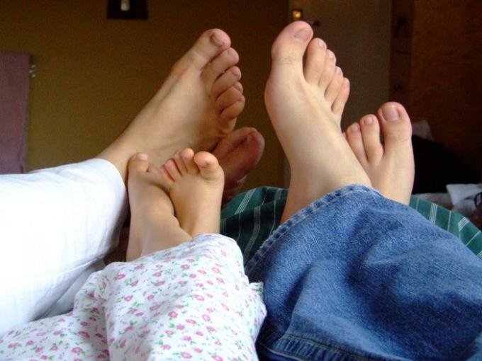 Как померить размер ноги