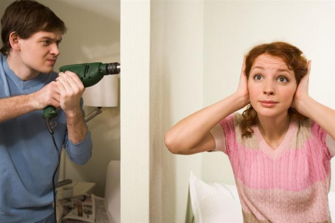 What to do if neighbors are noisy night