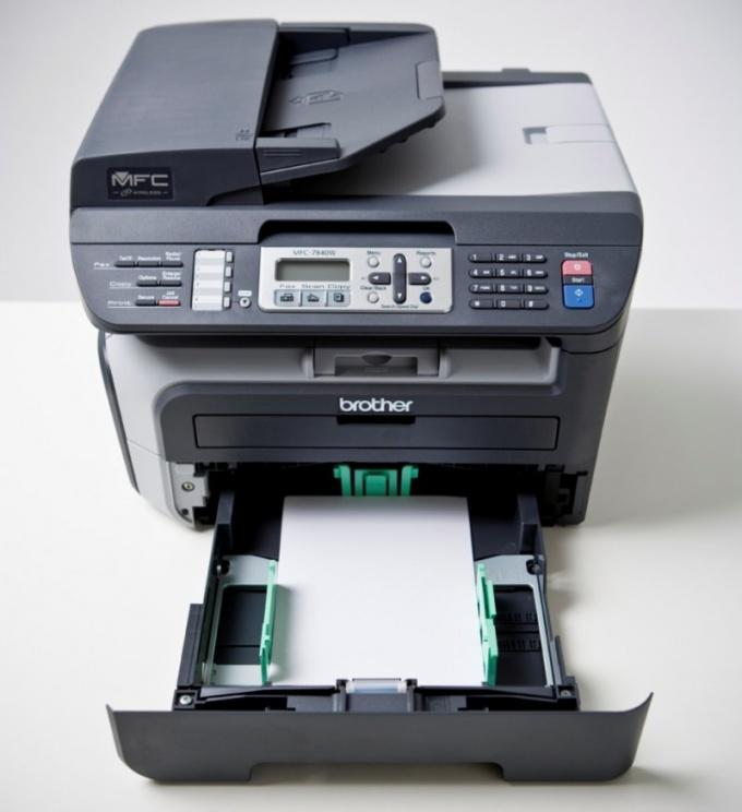 Как настроить факс в МФУ
