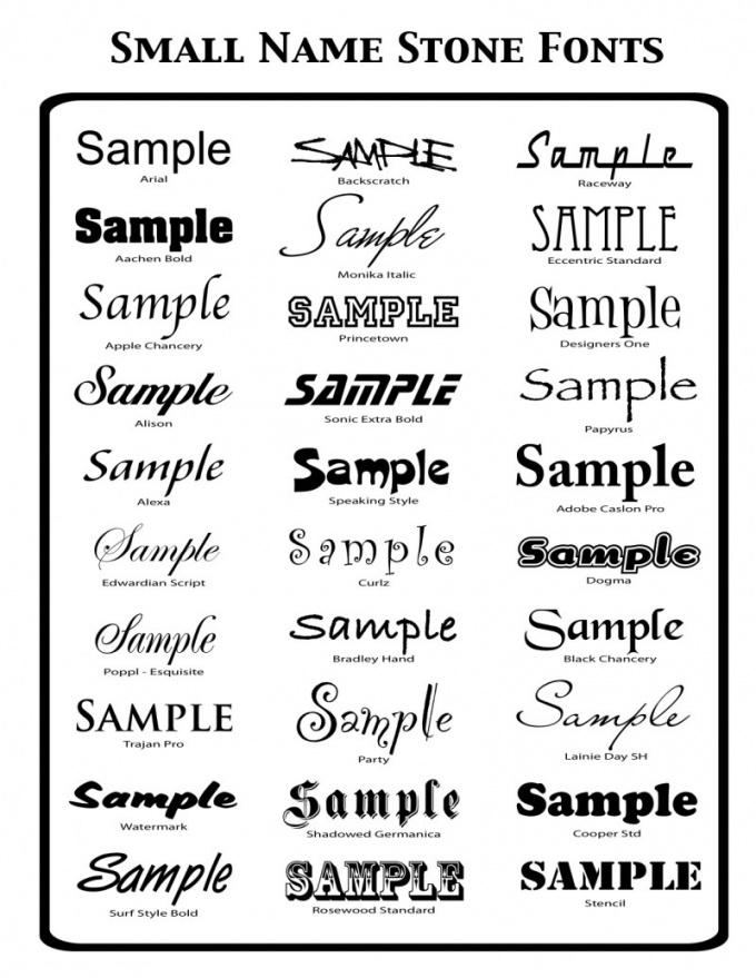 Как отредактировать шрифт
