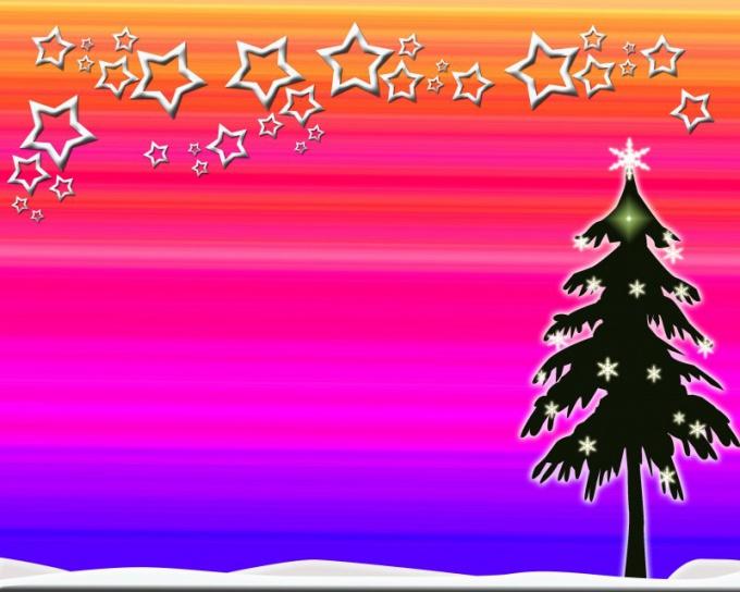 """Как делать открытки """"С Новым годом!"""""""