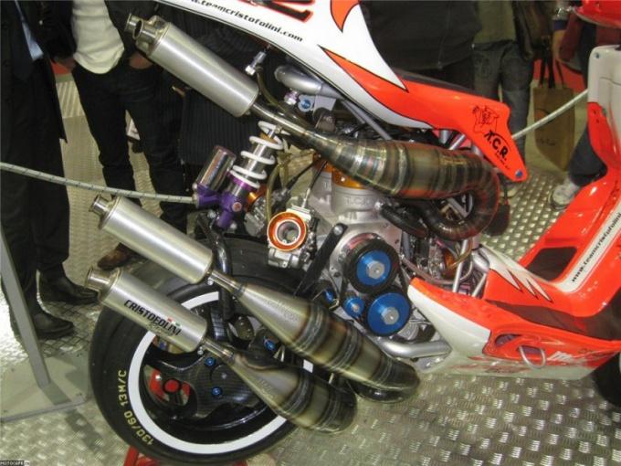 Как увеличить мощность мотора на скутере