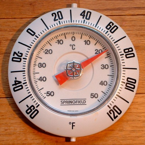 Как перевести температуру по Фаренгейту в Цельсию