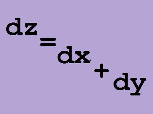 Как найти полный дифференциал функции
