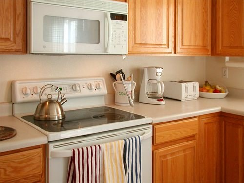 How to choose a wall color in the kitchen