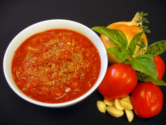How to cook tomato sauce