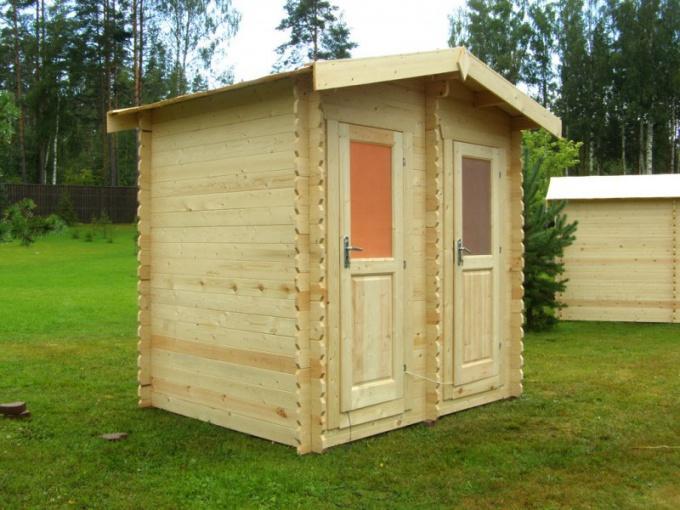 Как построить душ-туалет на даче