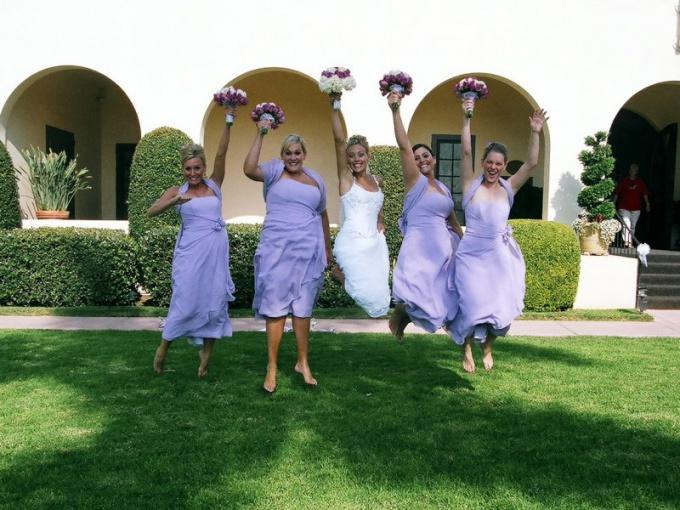 Что делать свидетельнице на свадьбе