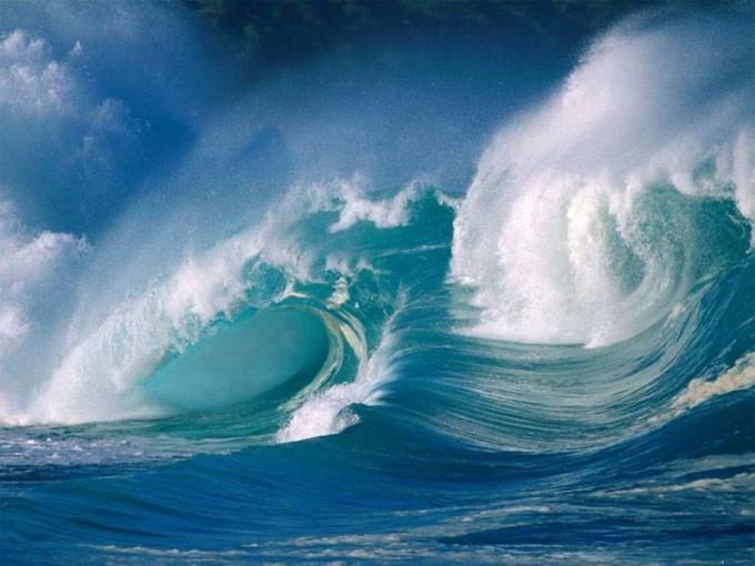 Что делать во время  цунами