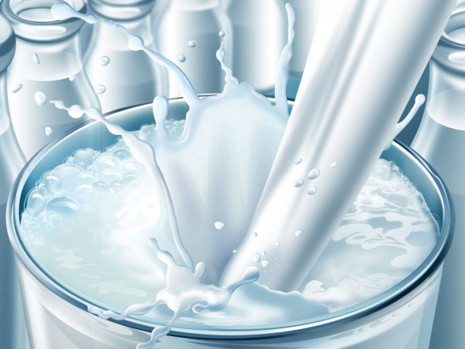 How to transfer milk in litres to kilograms