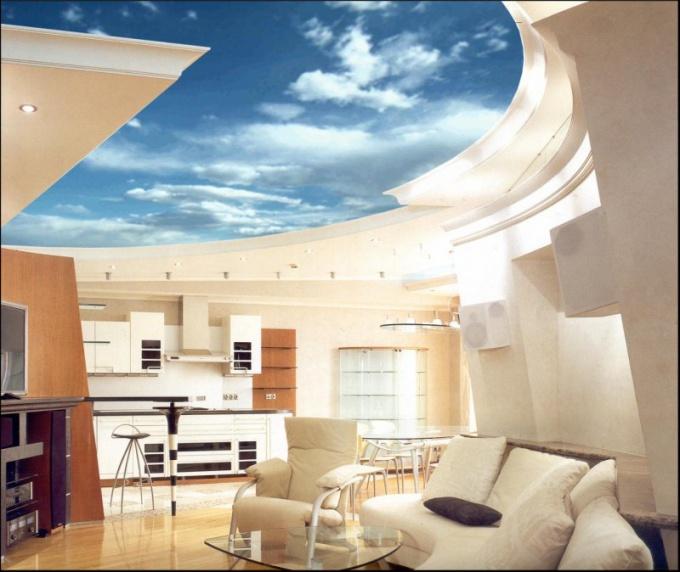 Как сделать многоуровневый натяжной потолок