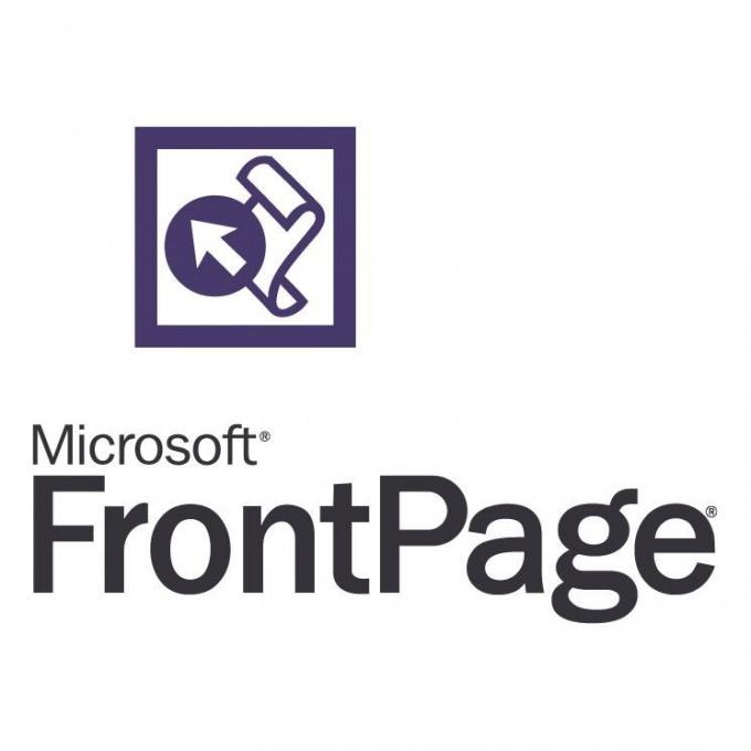 Программа Microsoft Frontpage как способ создания сайта