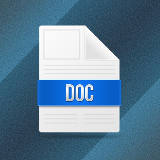 How to save a document in format .doc