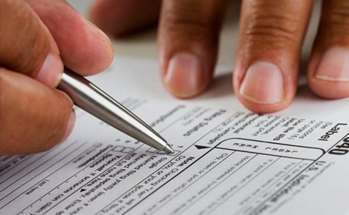 Как заполнить налоговую декларацию для физлиц