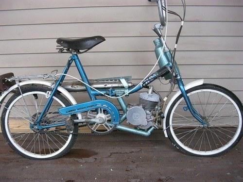 Как сделать из велосипеда мопед